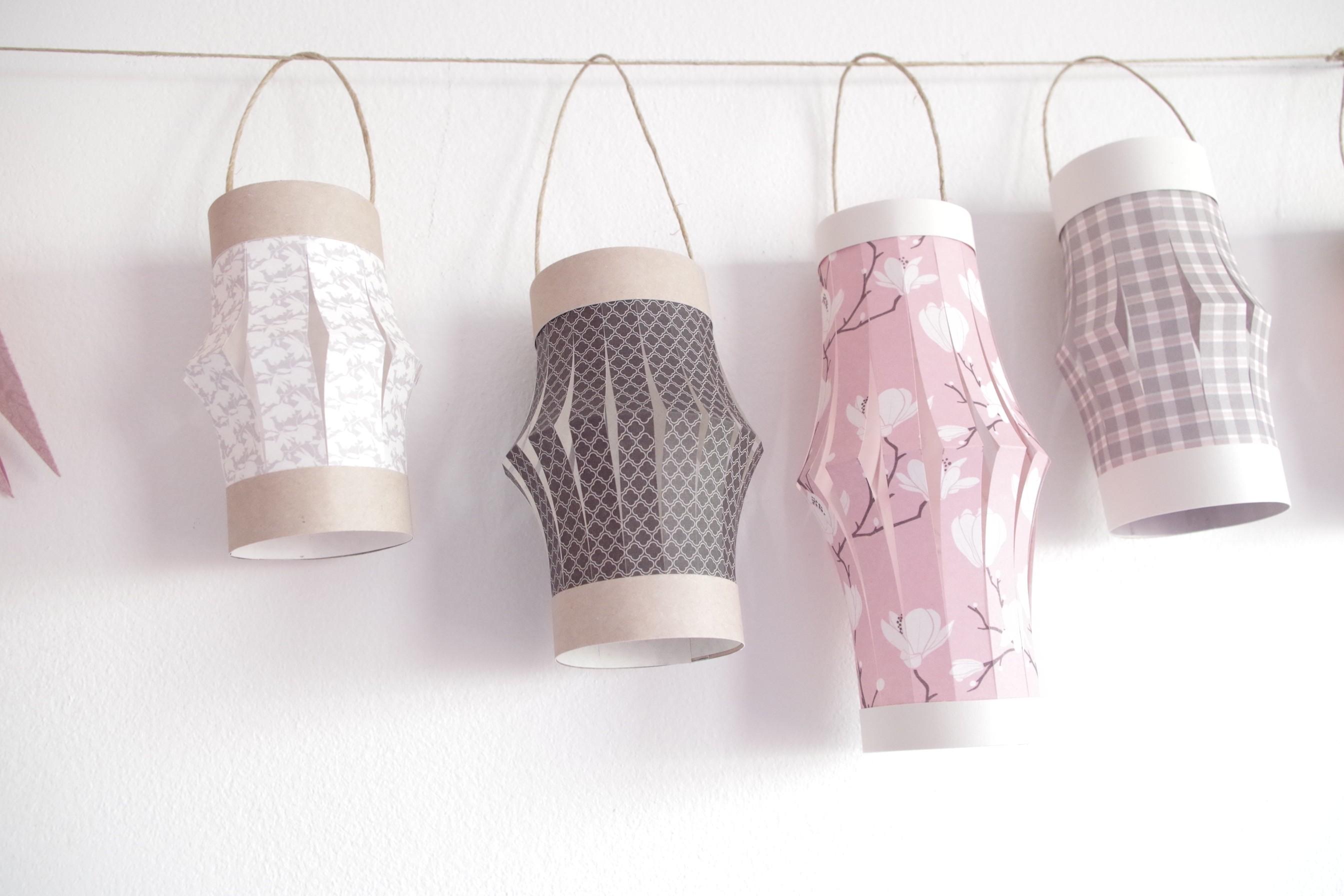 diy mes petites lanternes en papier atelier f te unique. Black Bedroom Furniture Sets. Home Design Ideas