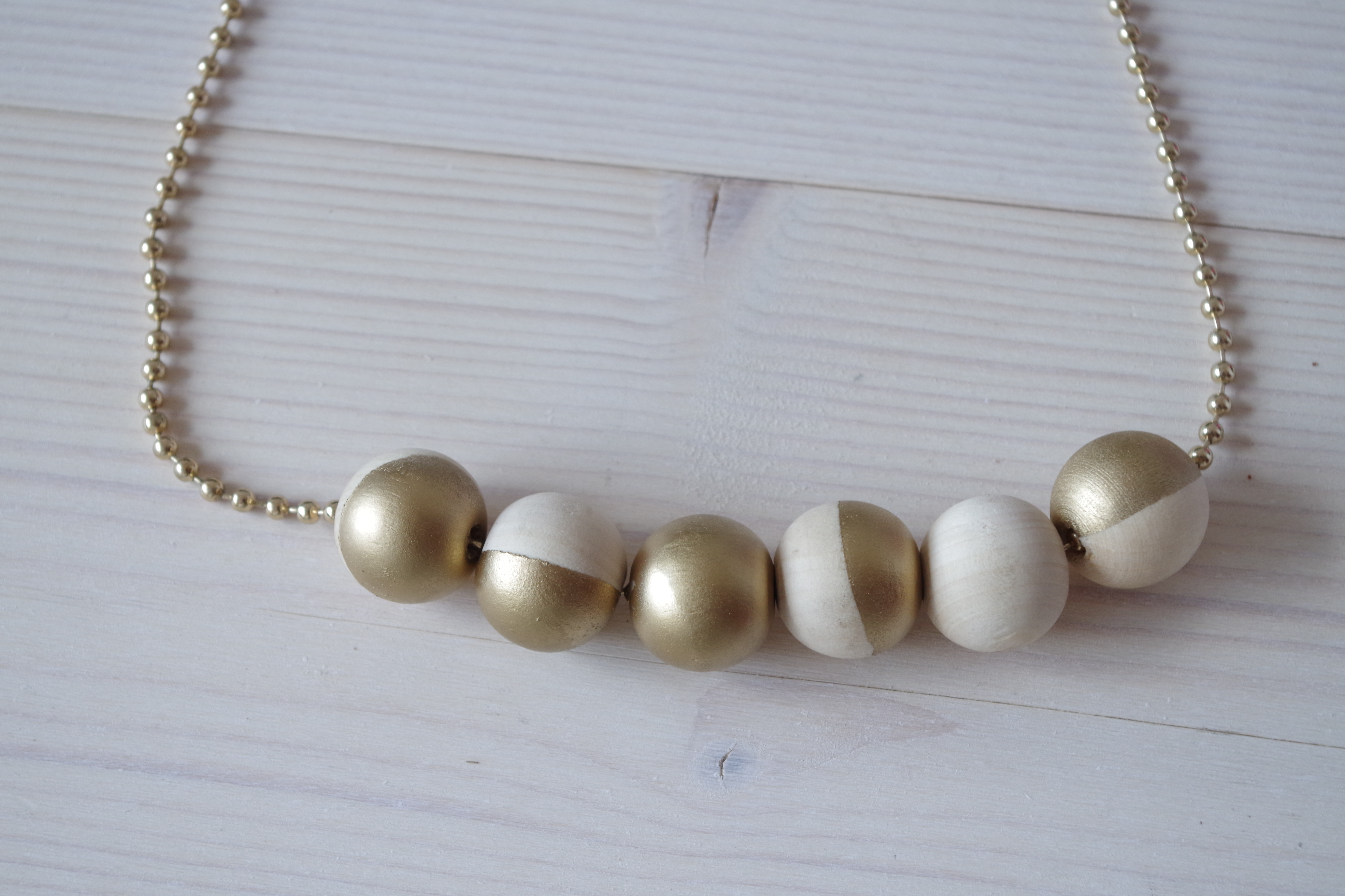{DIY} Mon collier pour Noël