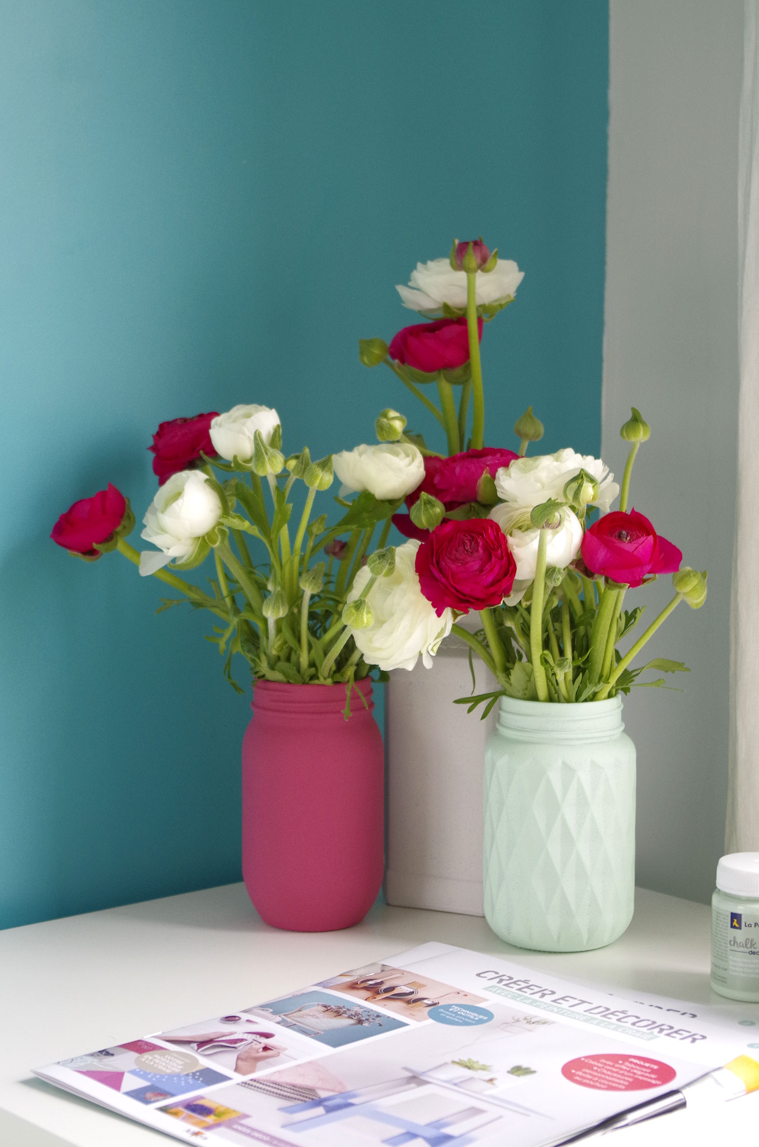 DIY – Je recycle mes pots de verre en vases