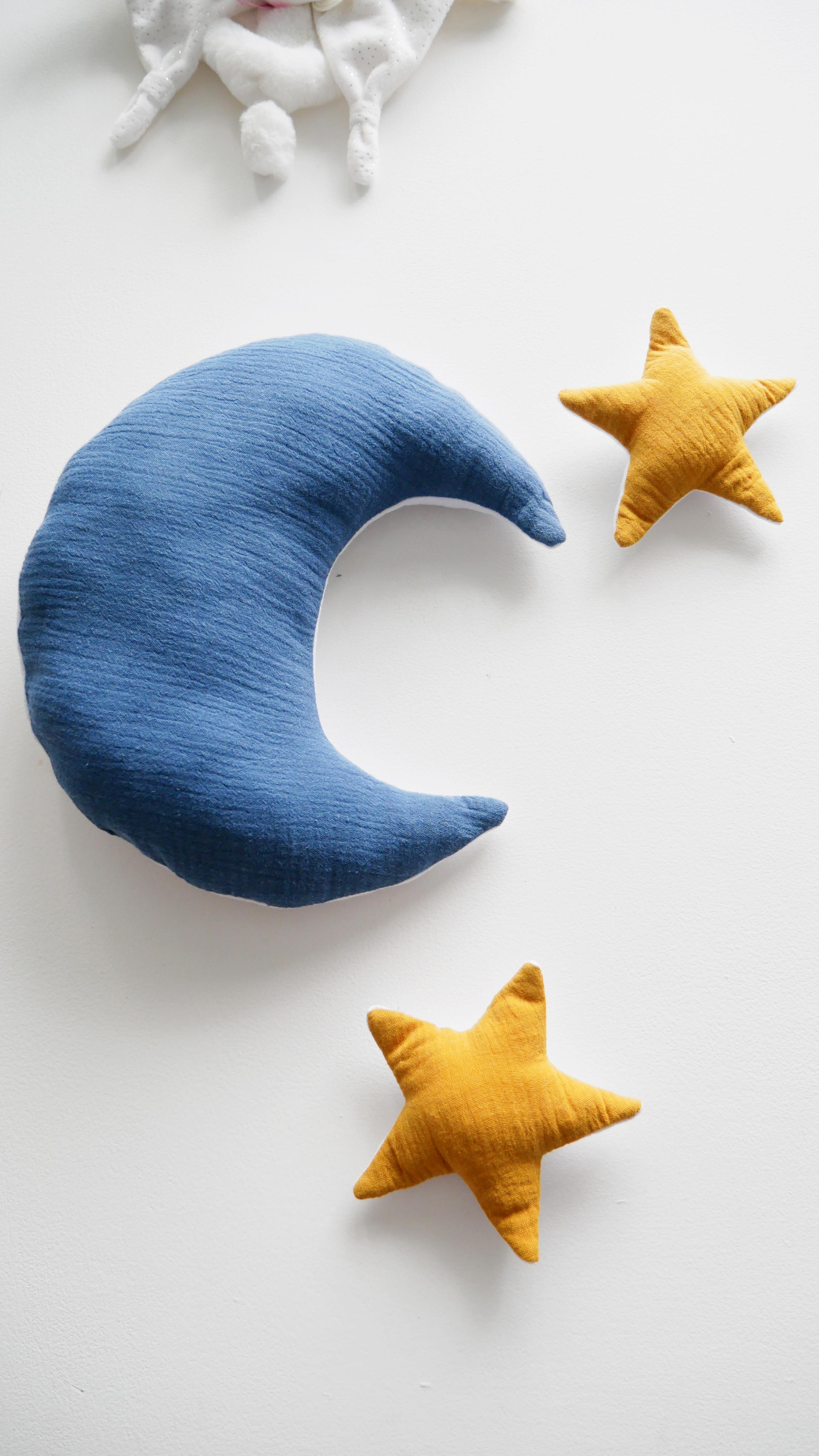 Couture : Une lune et des étoiles !